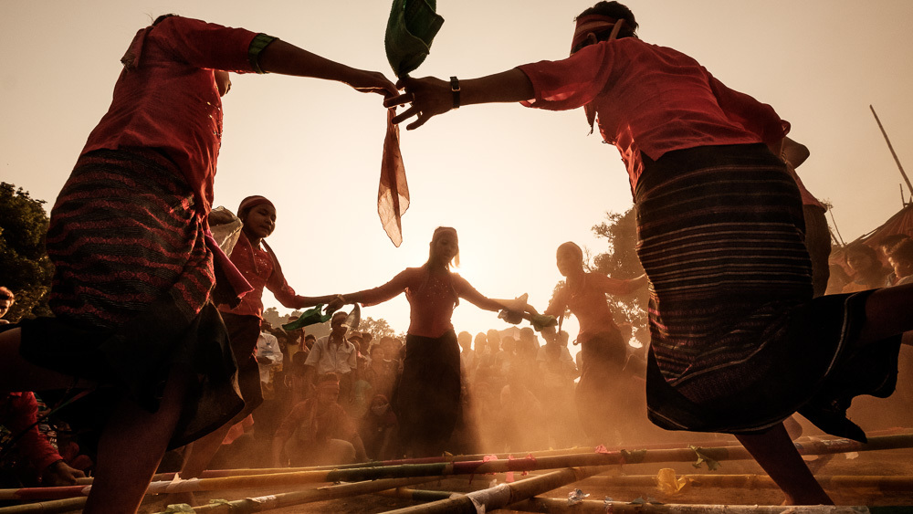Lai Tu Chin Bamboo Dance