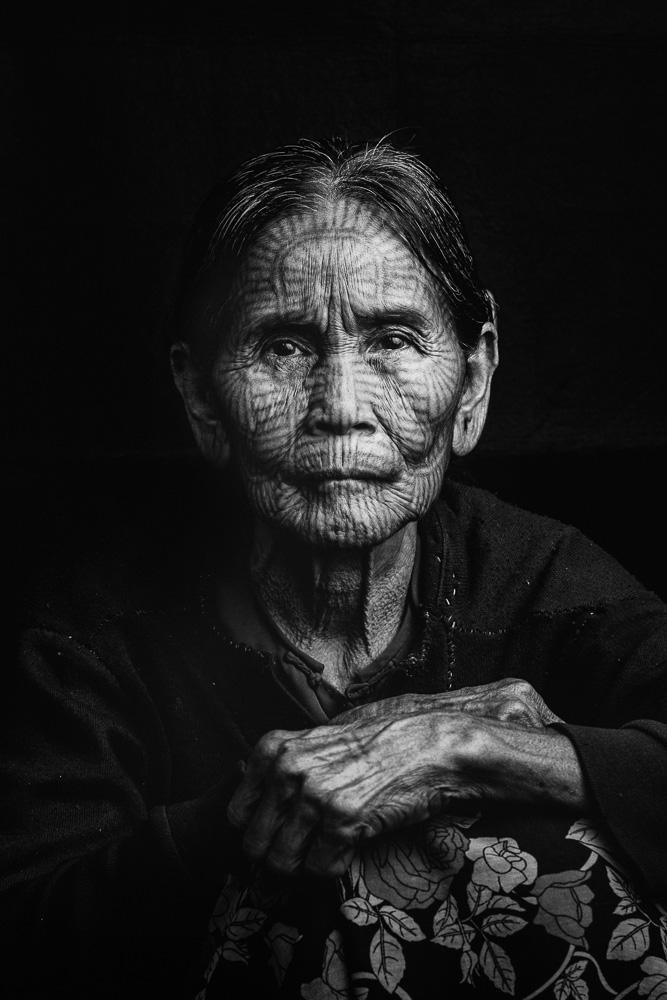 Lai Tu Chin Tattoo Faced Woman