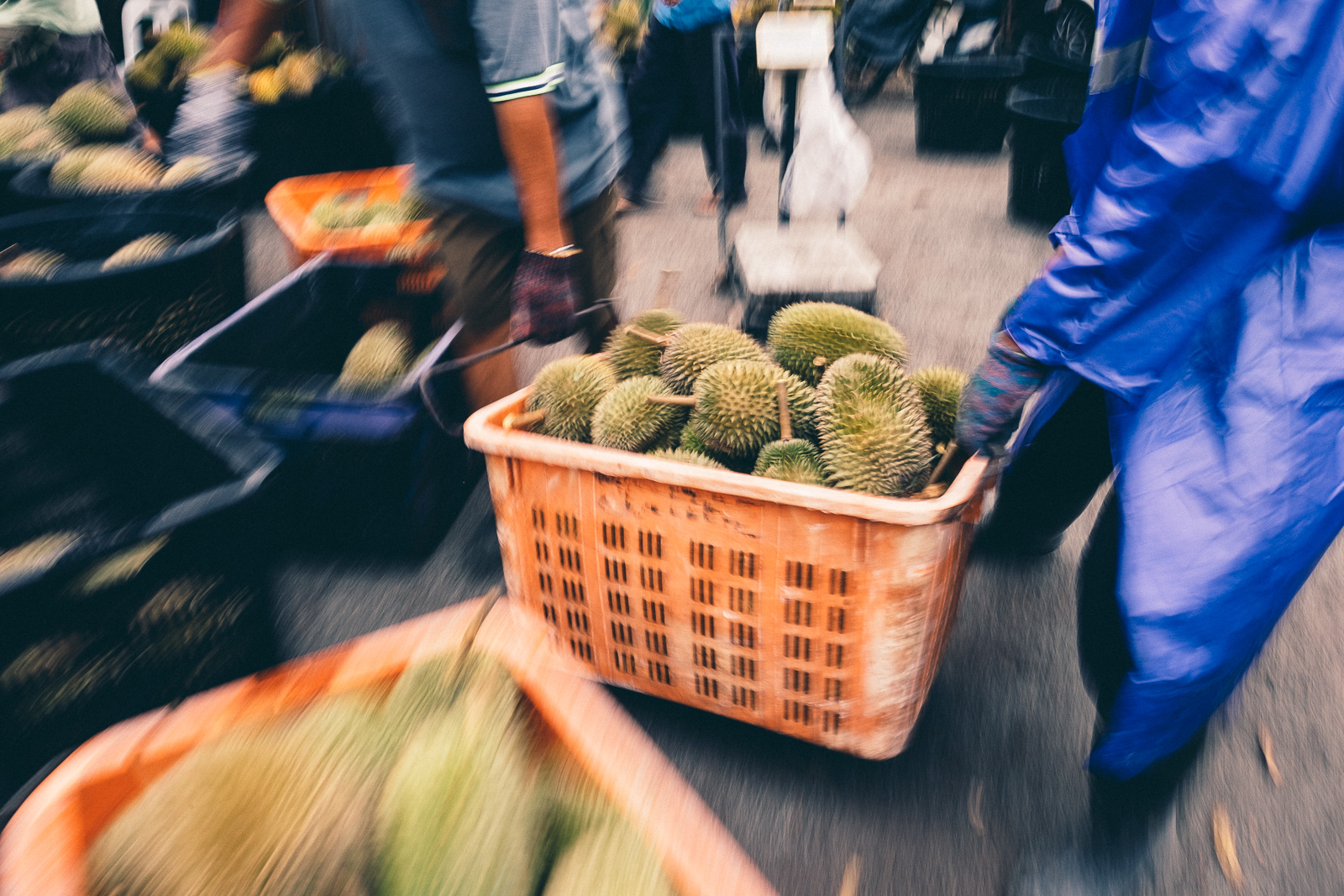 Durian Market - Penang Editorial Photographer