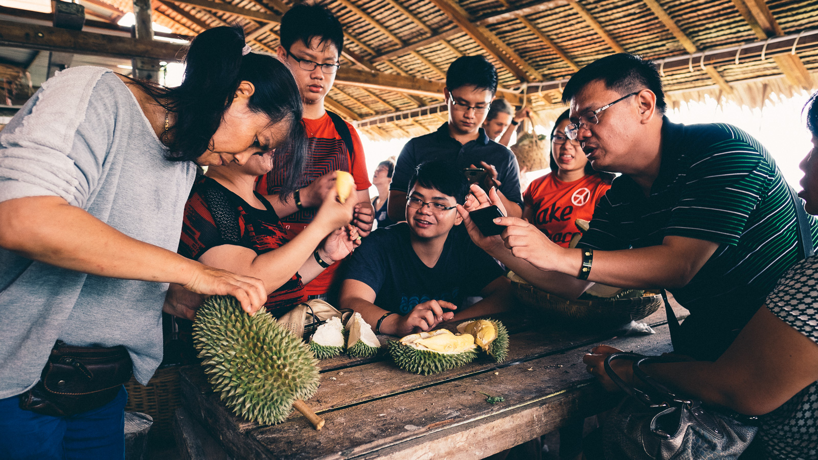 Durian Tourism - Penang Editorial Photographer