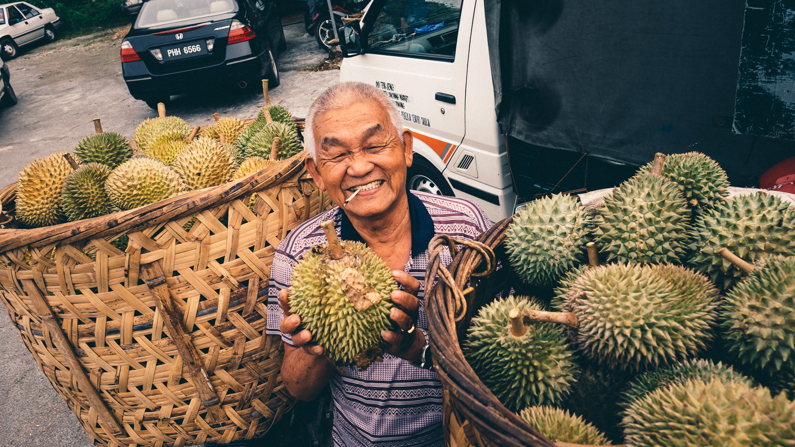 Proud Durian Farmer - Penang Editorial Photographer