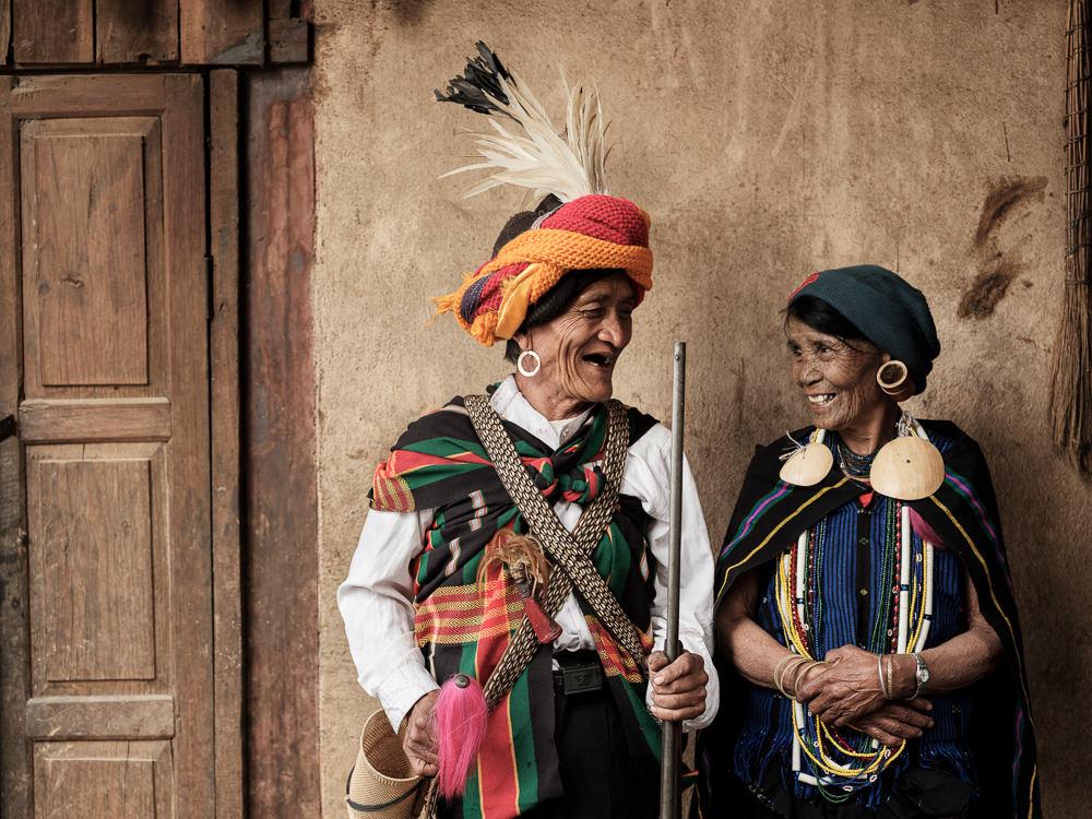 Kaang, Chin Facial Tattoo, Myanmar
