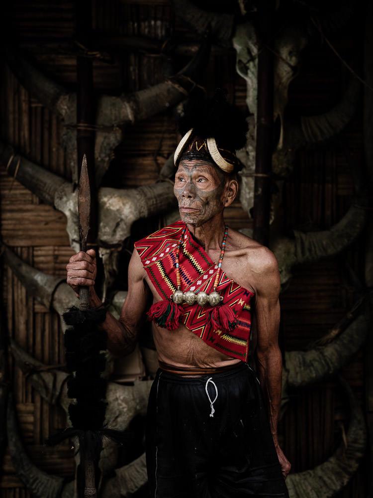 Konyak Naga Warrior - Penlung
