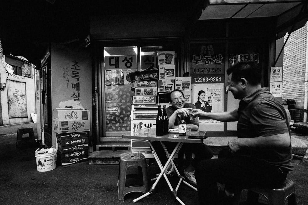 Drinks, Euljiro, Seoul, Korea