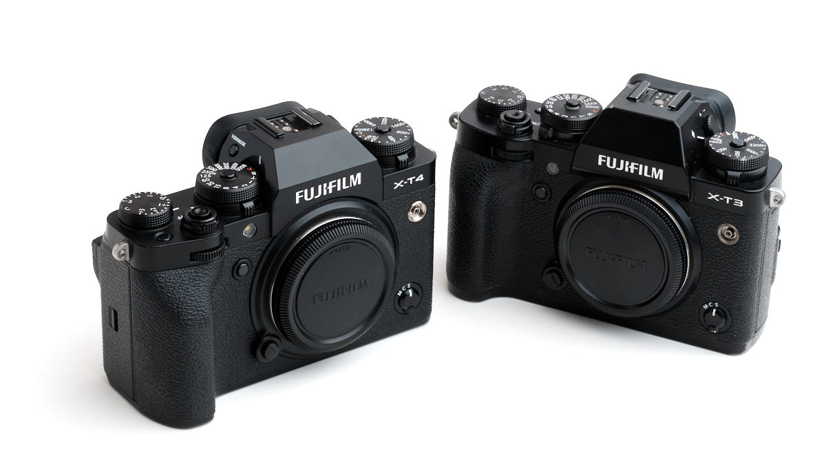 Fujifilm X-T3 and X-T4